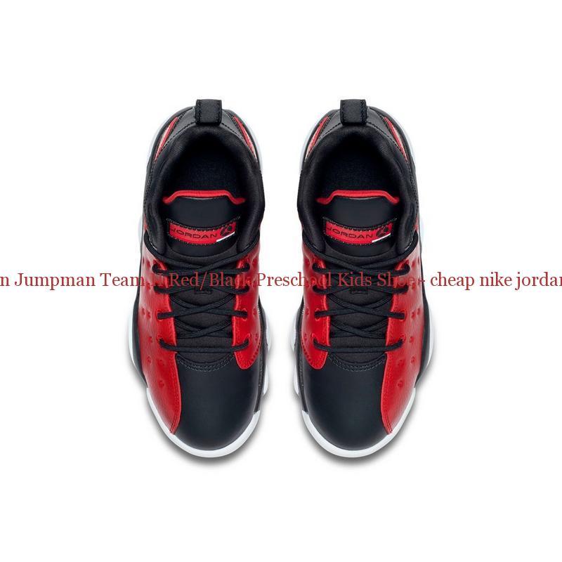 88bb2a4aea35 Best Jordan Jumpman Team II Red Black Preschool Kids Shoe – cheap nike ...