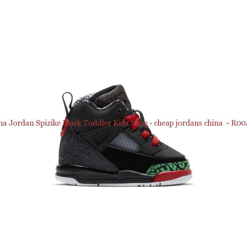 best cheap db190 edb50 China Jordan Spizike Black Toddler Kids Shoe - cheap jordans china - R0042G