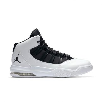 b894cc2f7cb083 Discount Jordan Max Aura White Black Mens Shoe – cheap jordans in stores –  Q0441