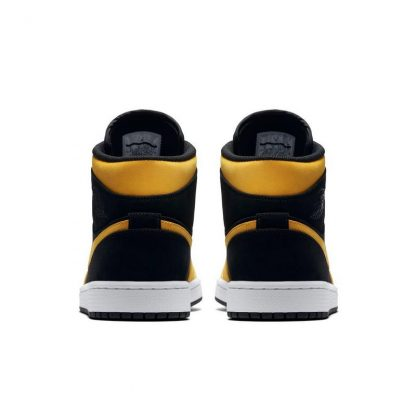 newest 7e7f6 cb4d7 High Quality Jordan 1 Mid Black/Yellow Mens Shoe - cheap jordans good  quality - Q0193