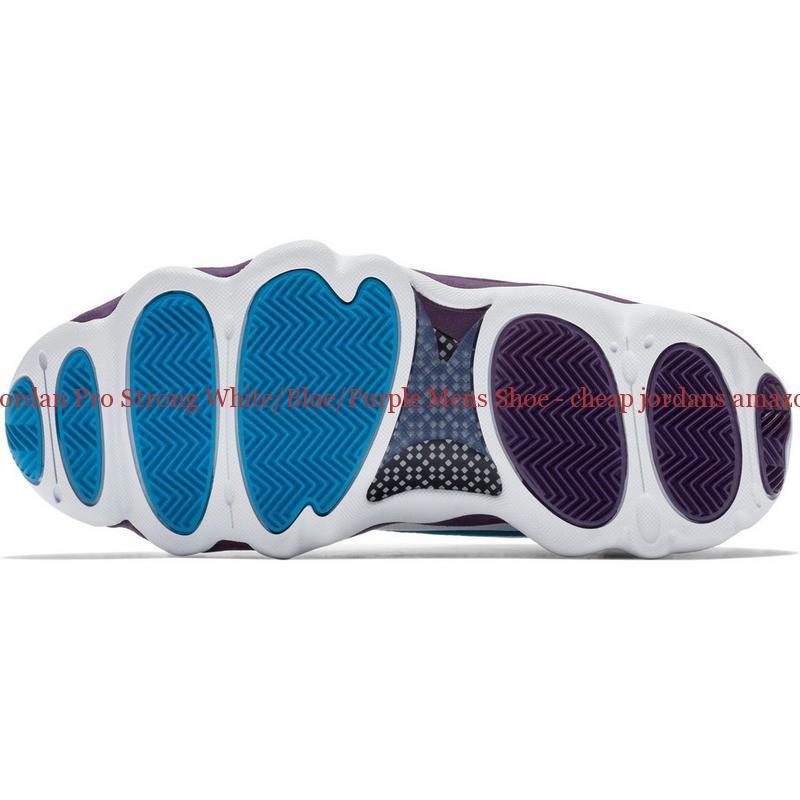 2571515c2c31c Hot Sale Jordan Pro Strong White/Blue/Purple Mens Shoe - cheap jordans  amazon - Q0115