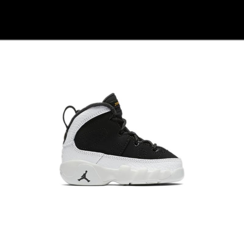 the latest 2363d a29ef Perfect Jordan Retro 9 Black Summit White Toddler Kids Shoe – cheap ...